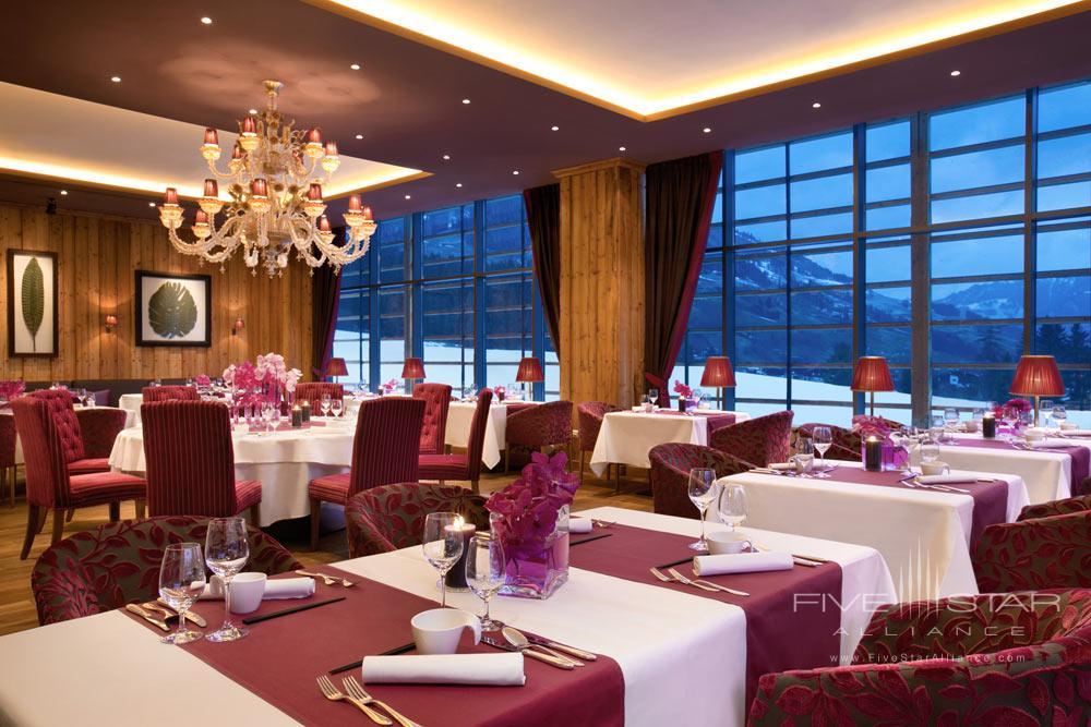 Kempinski Hotel Das Tirol Sra Bua Dining RoomAustria