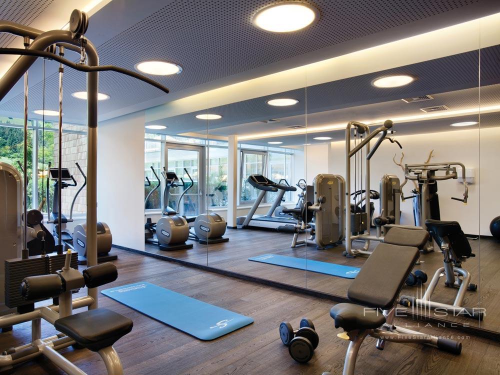 Kempinski Hotel Das Tirol fitness centerAustria