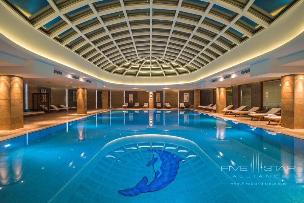 Pool at Kempinski Hotel Badamdar BakuAzerbaijan
