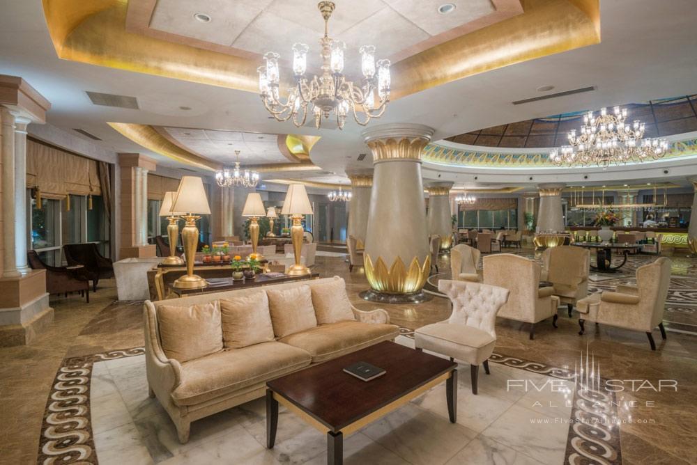 Lobby and Bar at Kempinski Hotel Badamdar BakuAzerbaijan