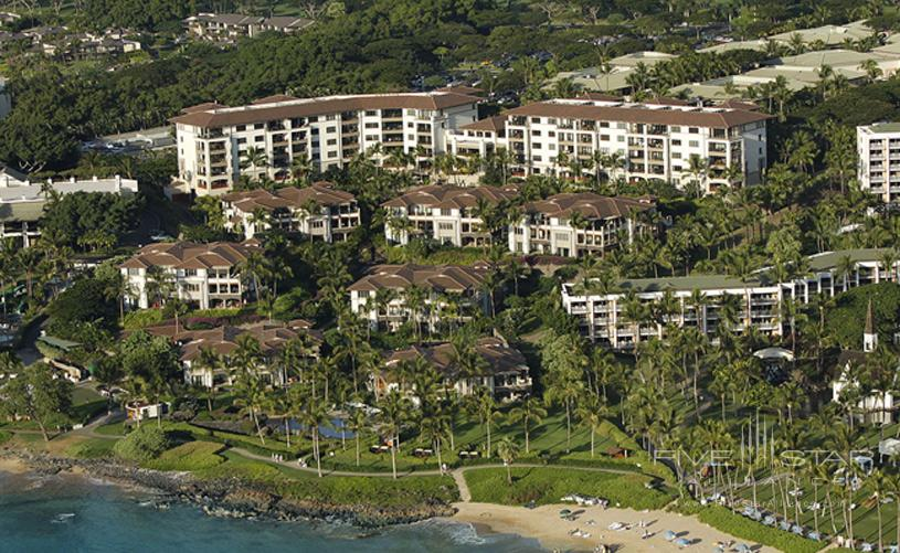 Wailea Beach Villas Aerial View
