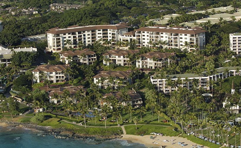 Wailea Beach Villas Aerial View
