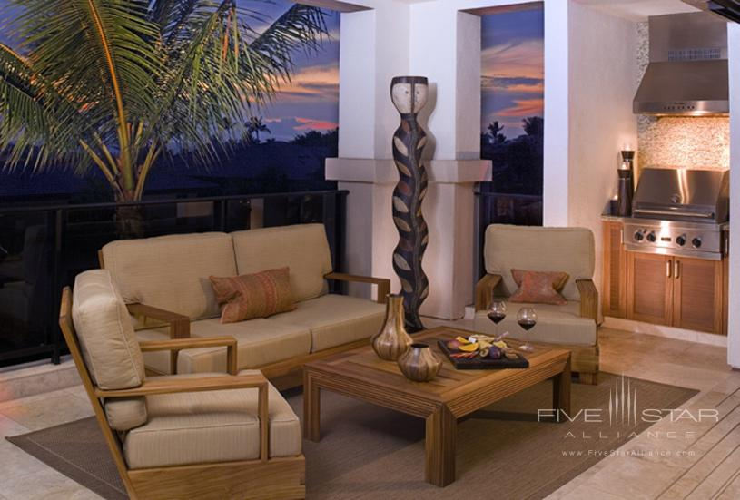 Wailea Beach Villas Lanai with BBQ