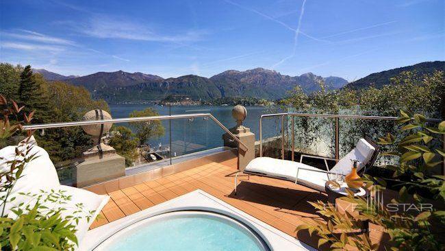 Grand Hotel Tremezzo Rooftop Suite Terrace