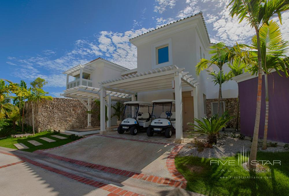 Three Bedroom Royale Villa Entrance at Eden Roc at Cap CanaPunta CanaDominican Republic