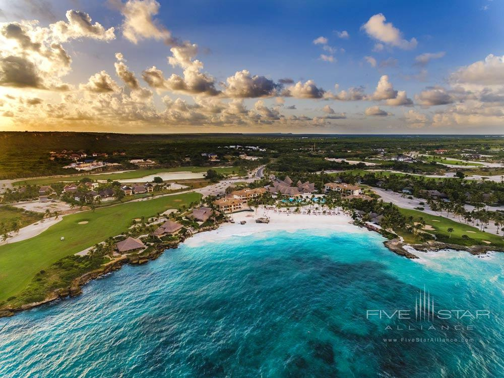 Drone view of Eden Roc at Cap Cana