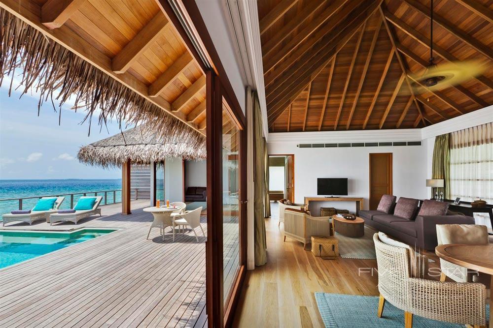Ocean Pavilion Family Room at Dusit Thani Maldives