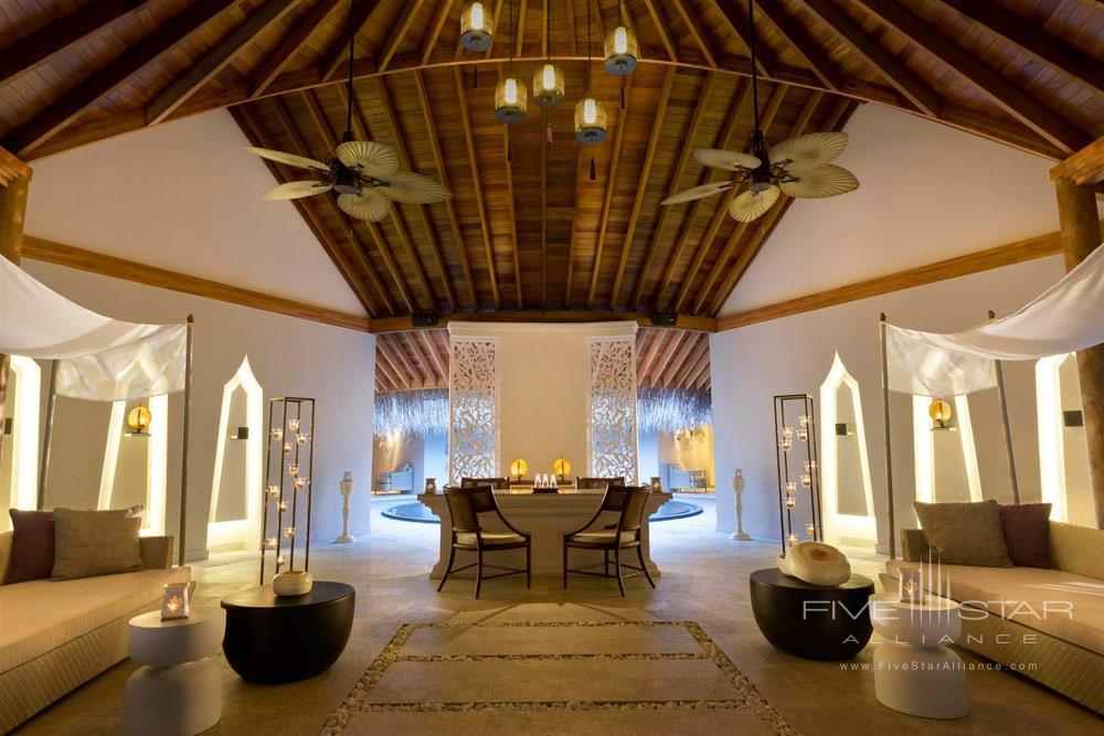 Spa Lobby at Dusit Thani Maldives
