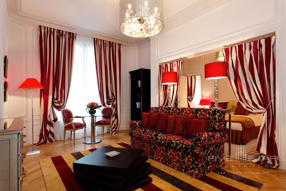 Junior Suite at Villa and Hotel Majestic ParisFrance