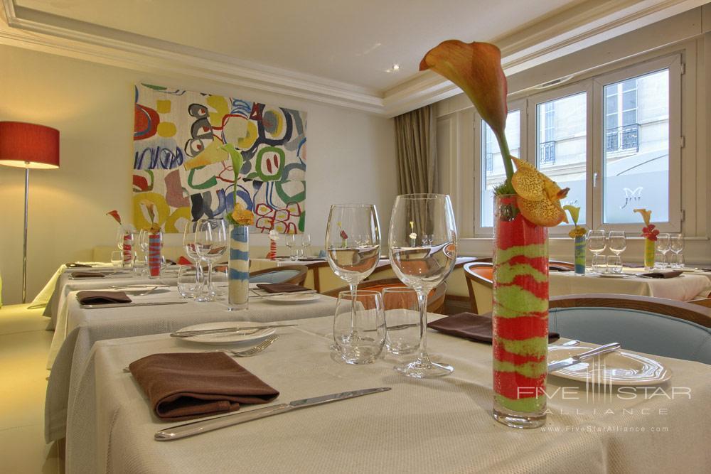 Le Magnum Restaurant at Villa and Hotel Majestic ParisFrance
