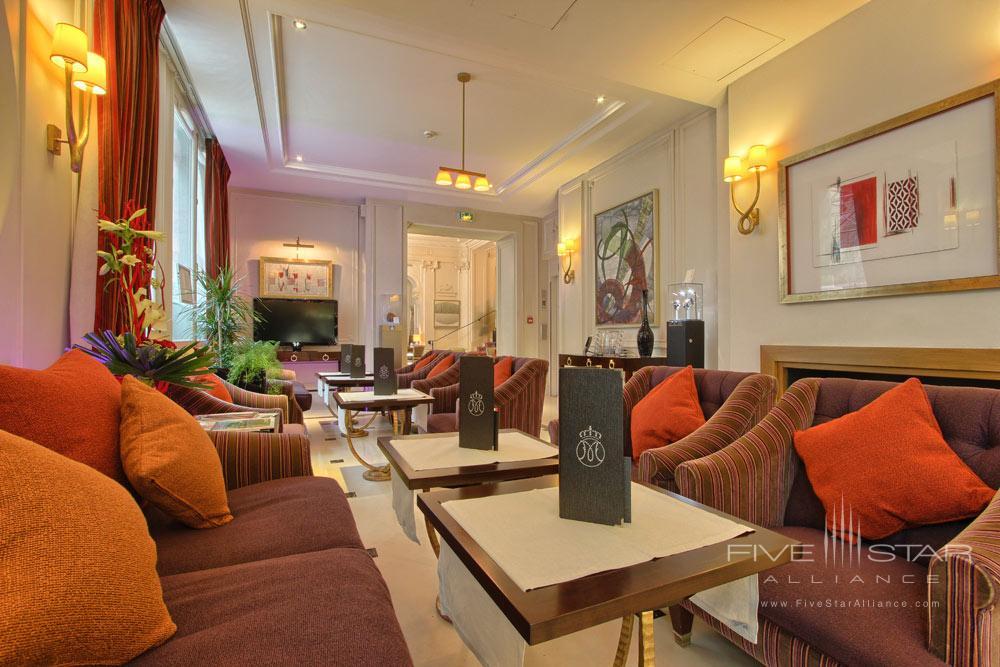 Bar at Villa and Hotel Majestic ParisFrance