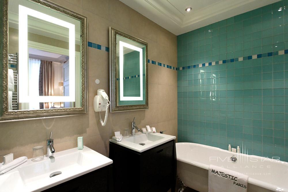 Bath at Villa and Hotel Majestic ParisFrance