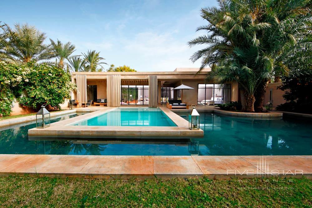 Pool Villa Exterior at Palais NamaskarMarrakechMorocco