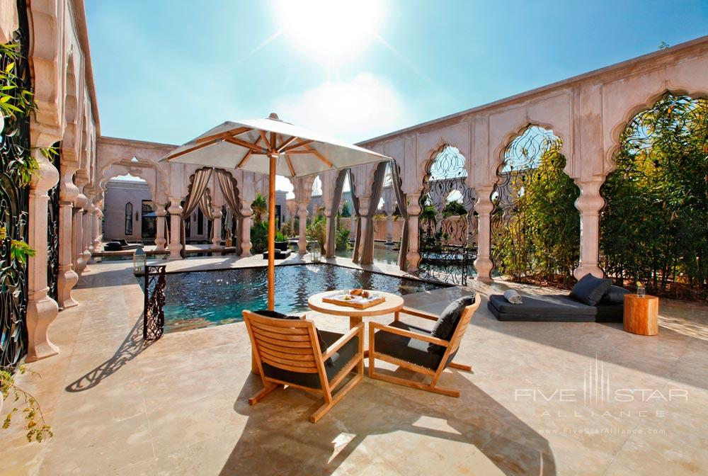 Pool Suite Terrace at Palais NamaskarMarrakechMorocco