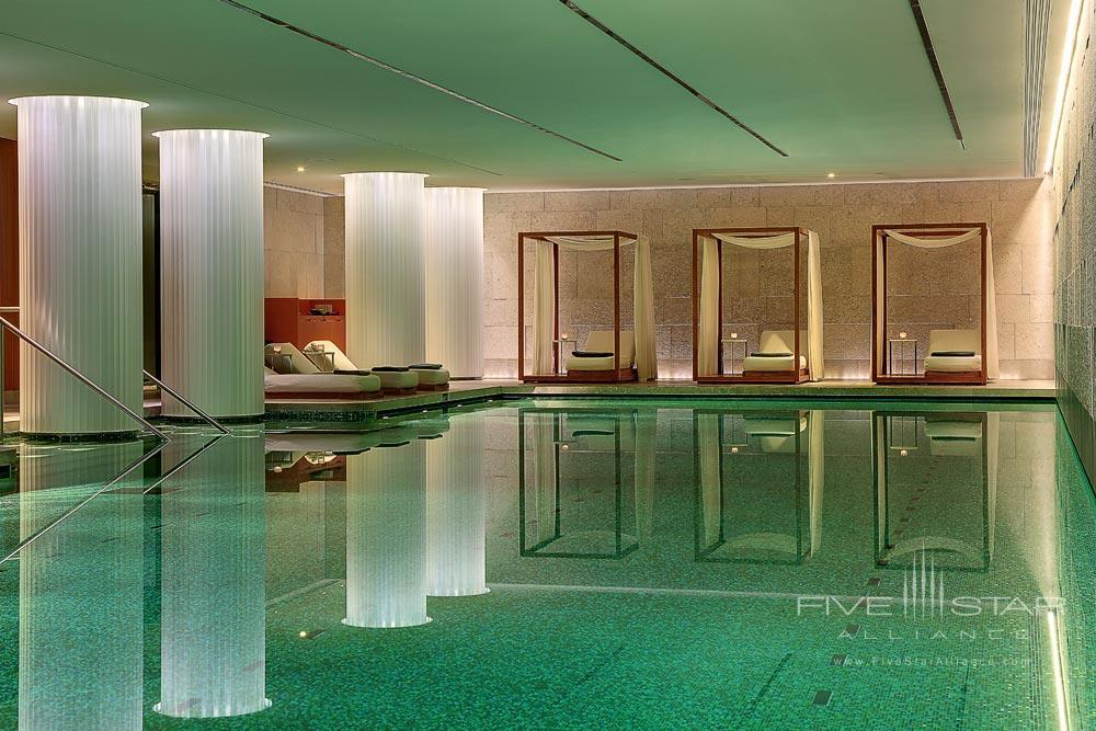 Pool at Bulgari Hotel and Residences LondonUK