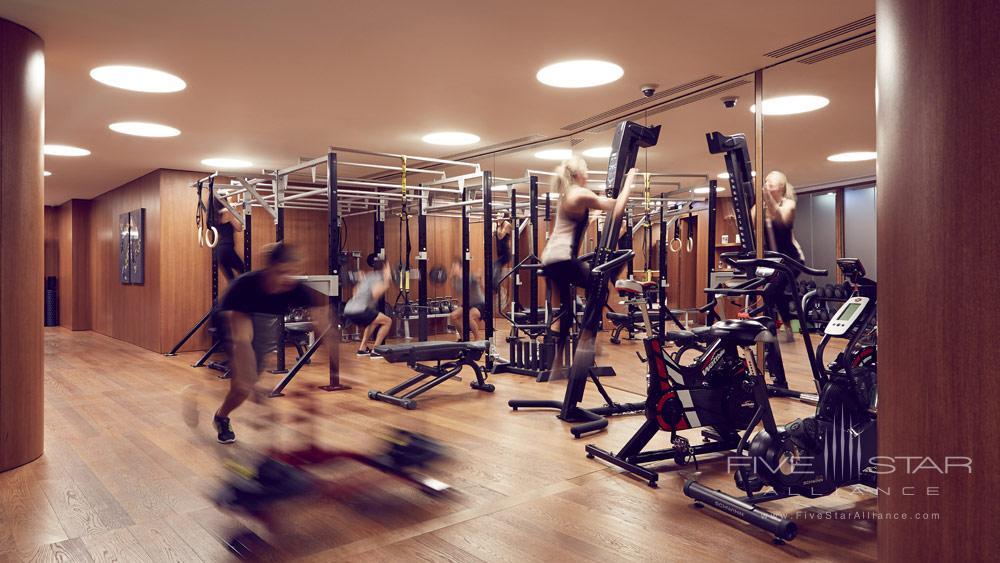 Gym at Bulgari Hotel and Residences LondonUK