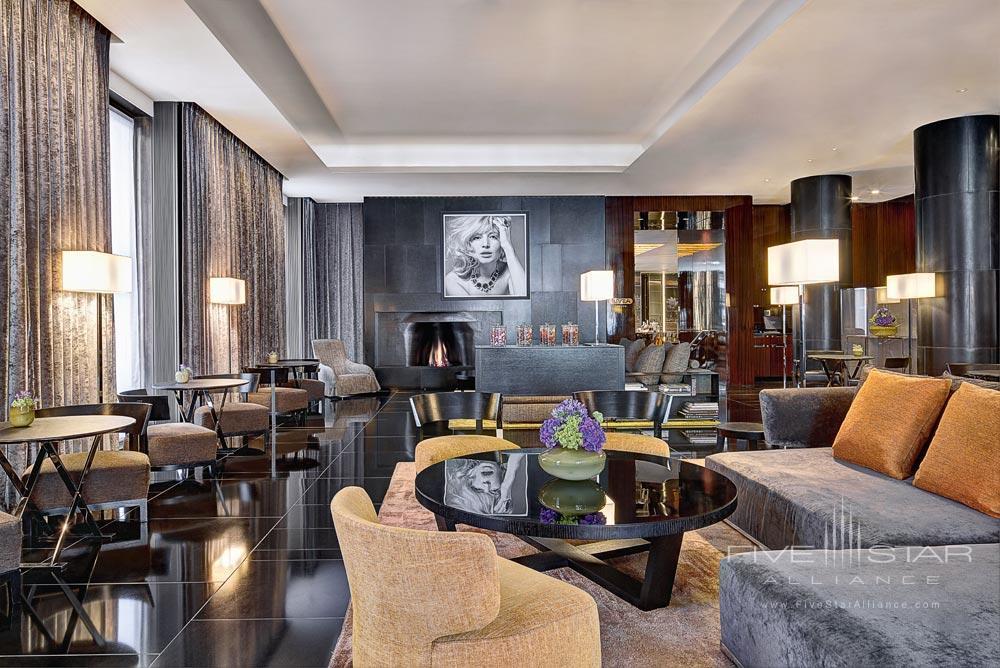 Lounge at Bulgari Hotel and Residences LondonUK