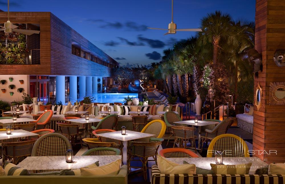 Bar Centro with Pool View at SLS Hotel South BeachFL