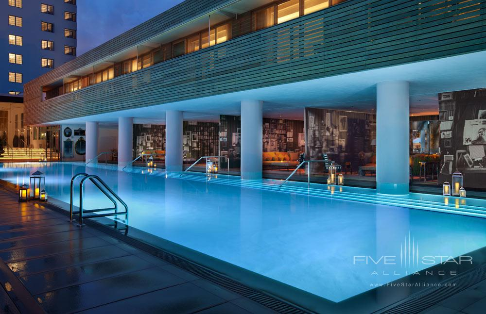 West Pool at SLS Hotel South Beach, FL