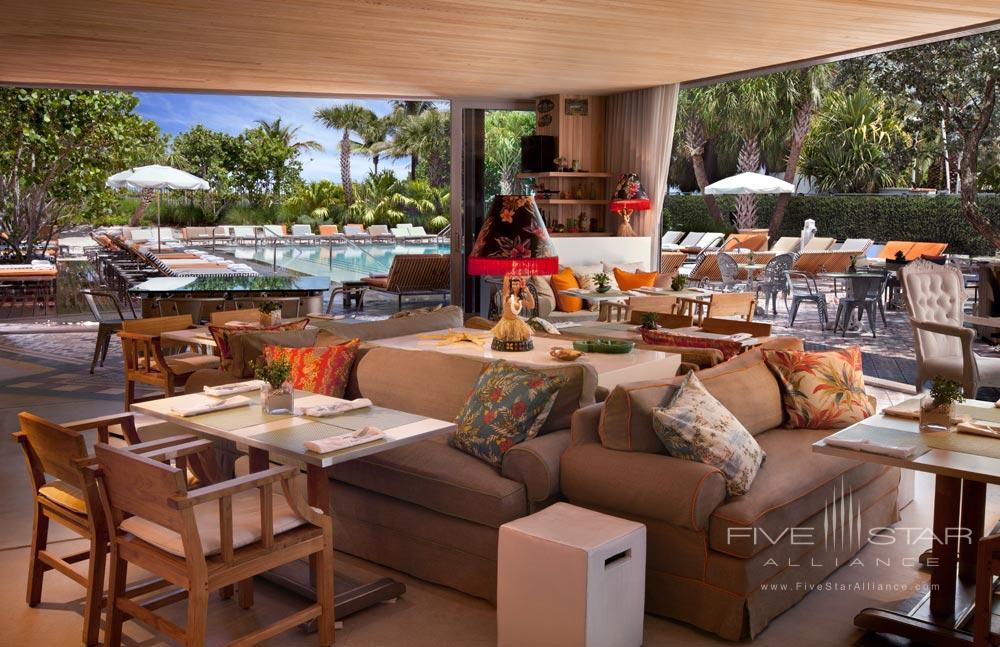 Hyde Beach Dining Area at SLS Hotel South BeachFL