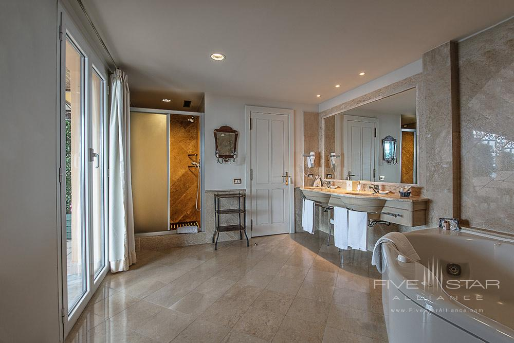 Presidential Suite Bath at Excelsior Palace Hotel RapalloItaly