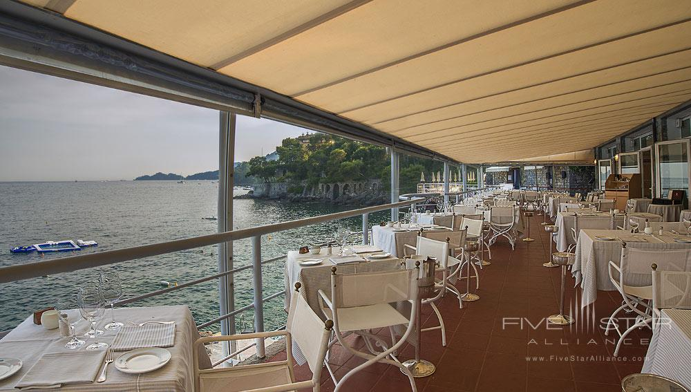 Eden Roc Dining at Excelsior Palace Hotel RapalloItaly