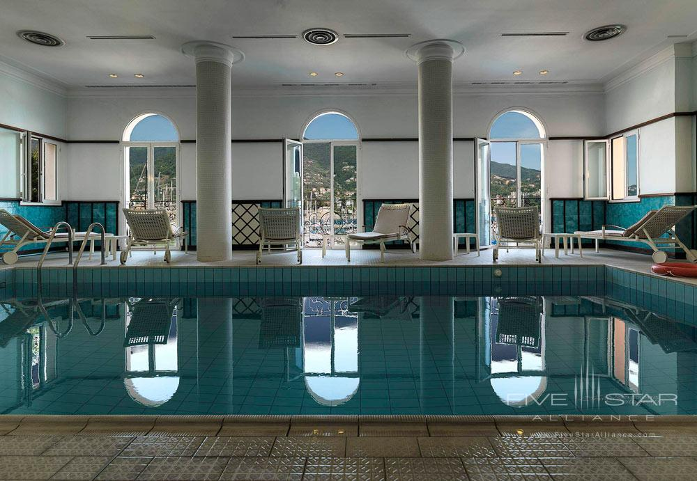 Indoor Pool at Excelsior Palace Hotel Rapallo, Italy