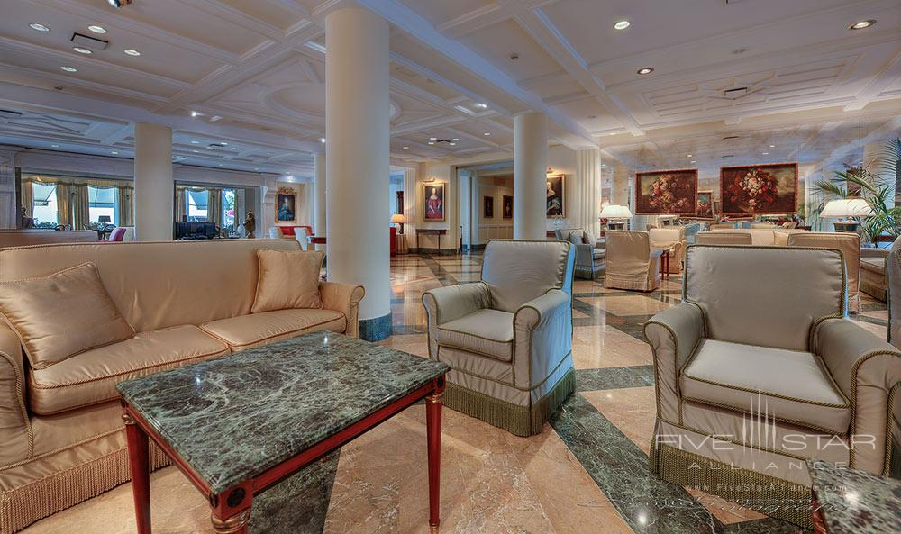 Lounge at Excelsior Palace Hotel Rapallo, Italy