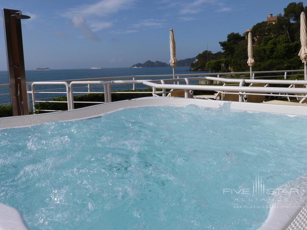 Jacuzzi at Excelsior Palace Hotel Rapallo, Italy