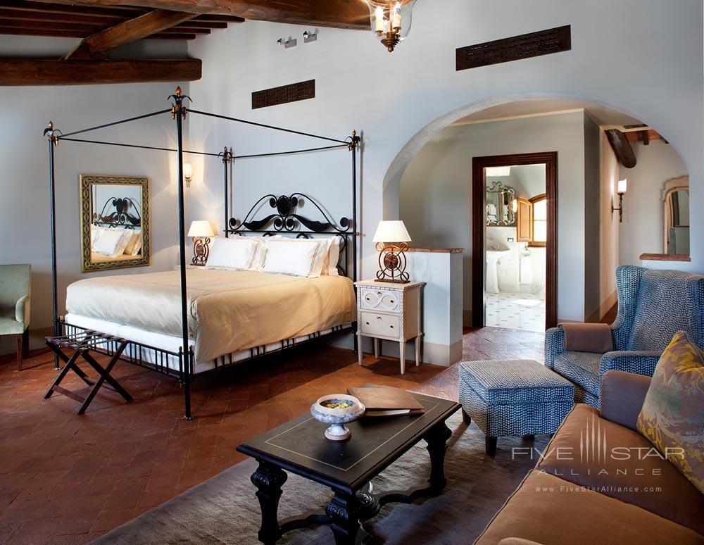 Suite Magnifica at Hotel Castello di Casole
