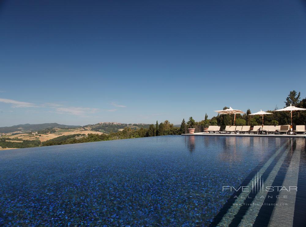 Pool at Hotel Castello di Casole