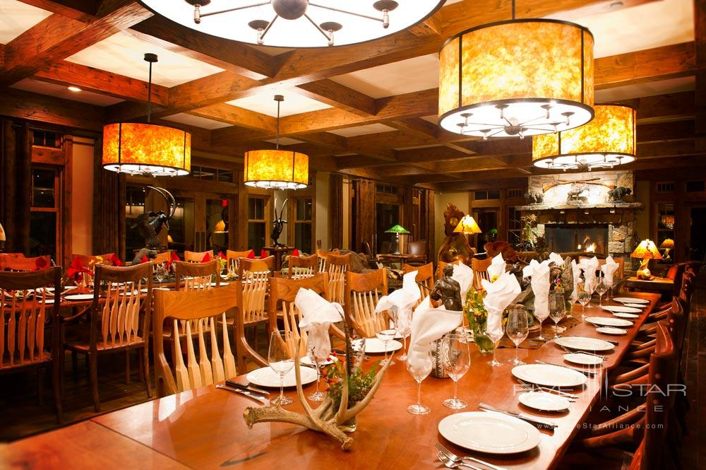 Great Room Dining at Kessler CanyonDeBequeCO