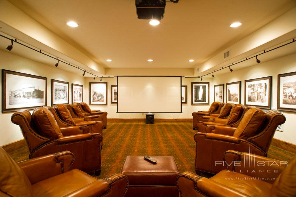 Media Room at Kessler CanyonDeBequeCO