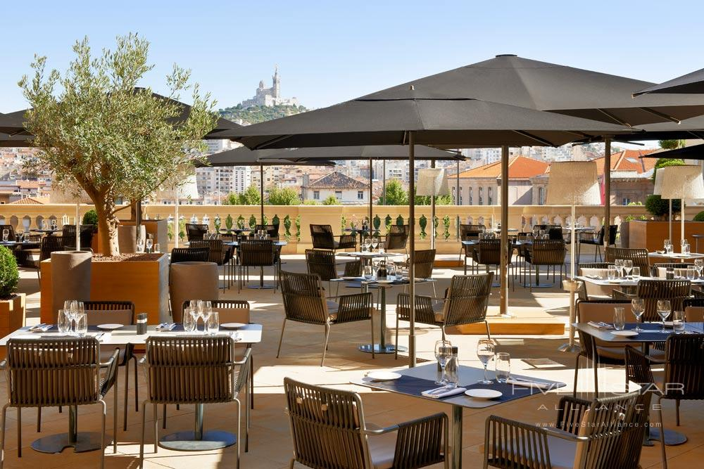 Terrace at InterContinental Marseille - Hotel Dieu