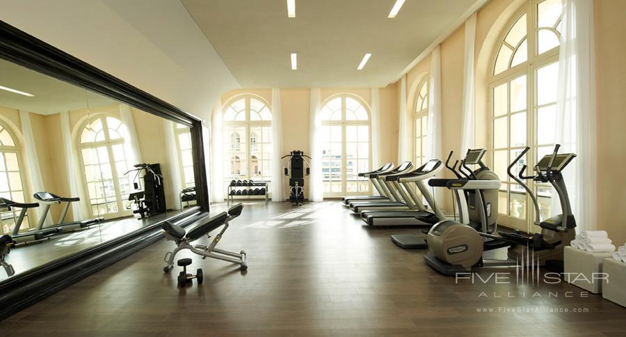 Gym at InterContinental MarseilleFrance
