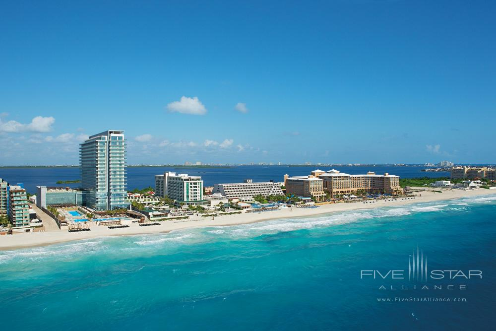Aerial View of Secrets The Vine Cancun, Mexico