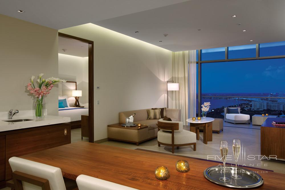 Governor Suite Living Area at Secrets The Vine Cancun, Mexico