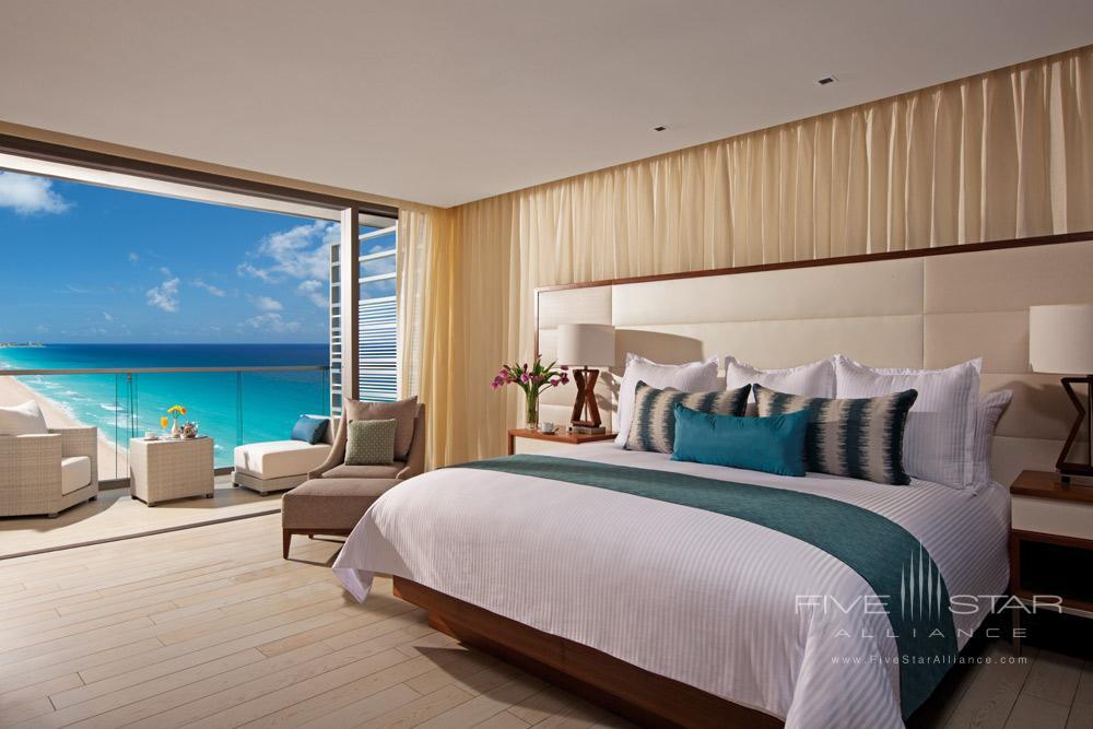 The Junior Suite Ocean View at Secrets The Vine CancunMexico