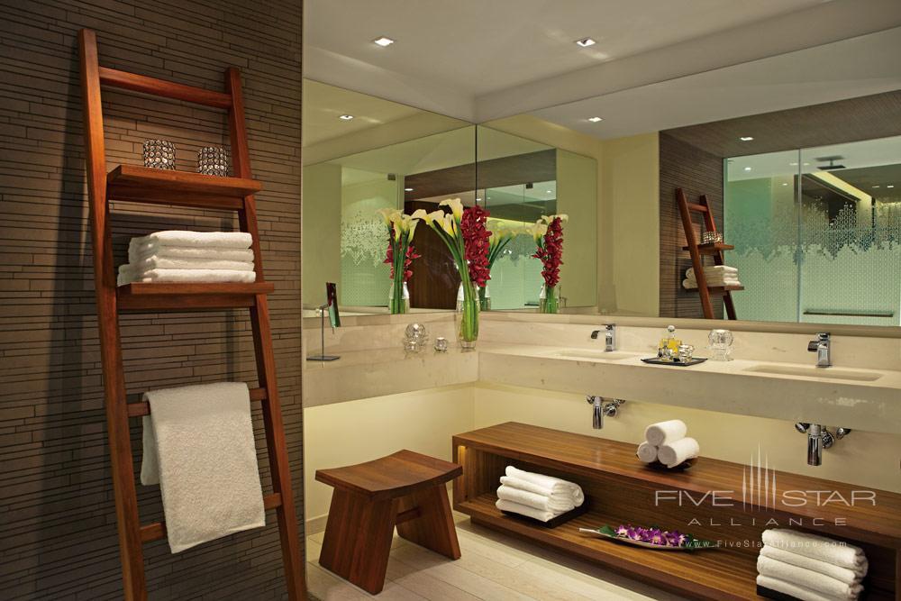 Junior Suite Bathroom at Secrets The Vine CancunMexico
