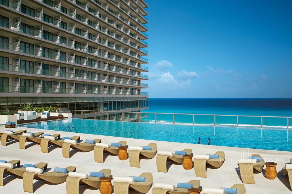Preferred Club Private swimming pool at Secrets The Vine CancunMexico