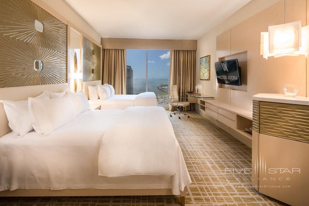 Double Guestroom at Waldorf Astoria Panama, Panama City