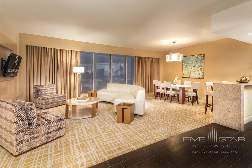 Suite Living Room at Waldorf Astoria Panama, Panama City