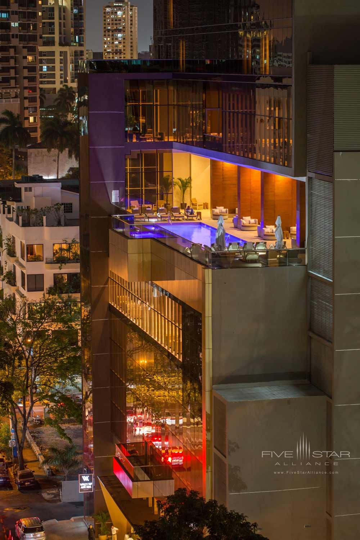 Rooftop Pool at Waldorf Astoria PanamaPanama City