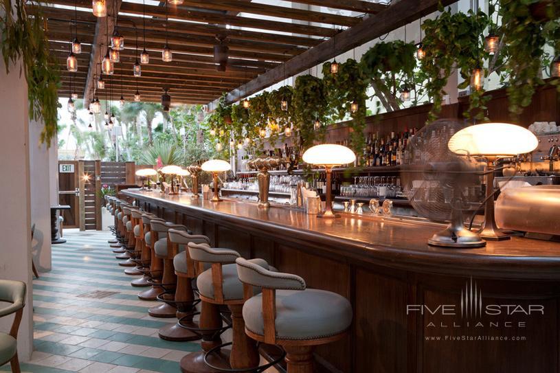 Bar at Soho Beach House