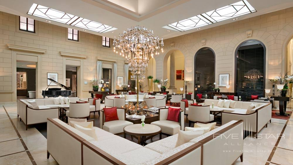 Lobby at Palais Hansen Kempinski Vienna