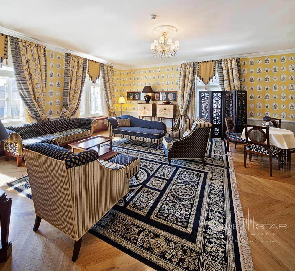 Luxury Suite Living Area at The Bonerowski PalacePoland