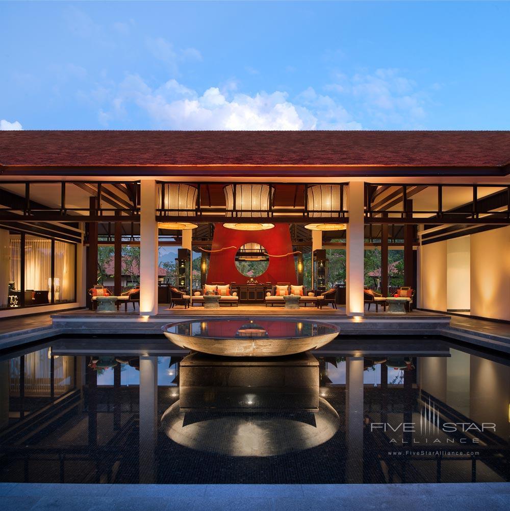 Spa Lounge at Banyan Tree Lang CoVietnam