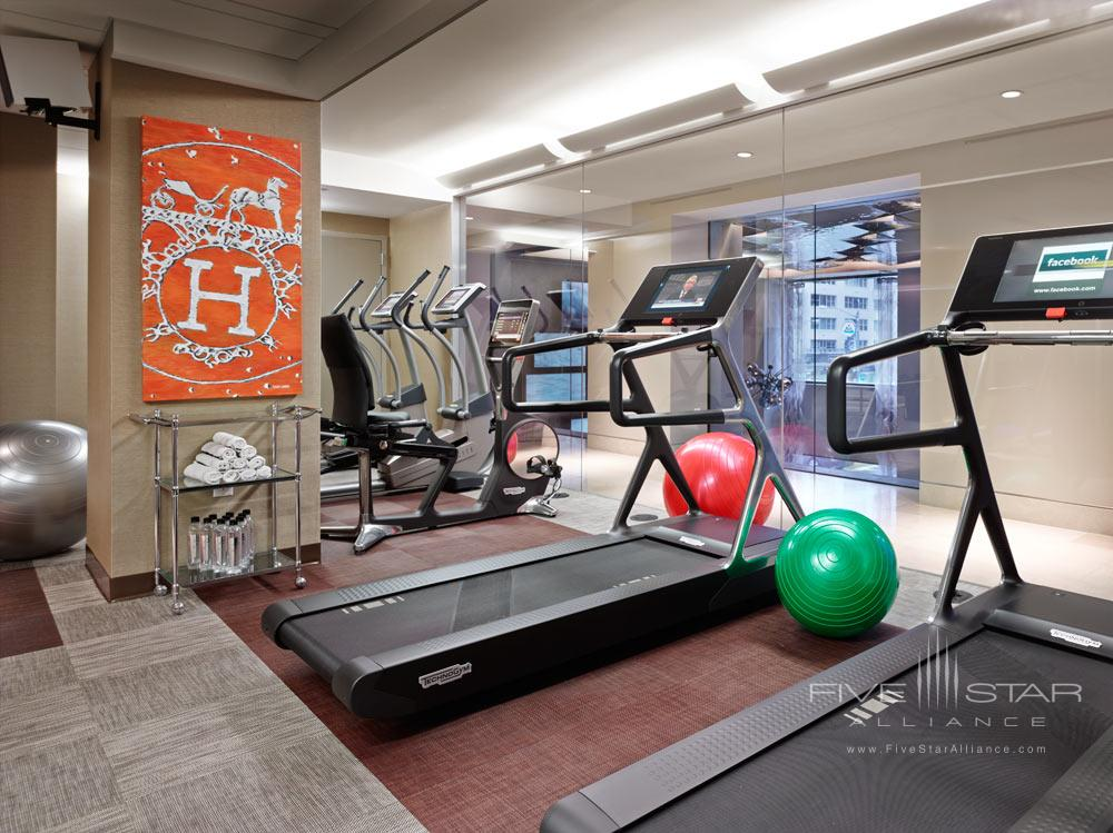 Fitness Center at The Quin Hotel