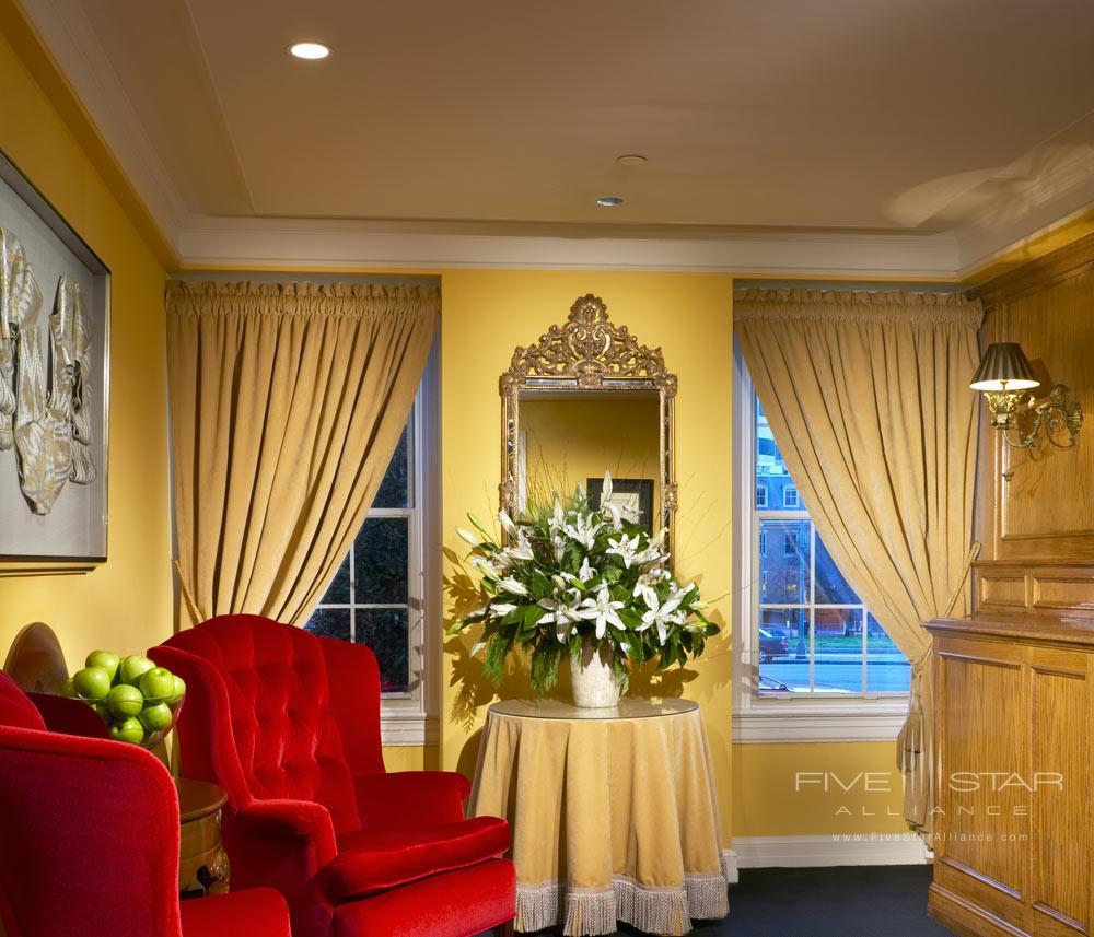 Lobby at Hotel Lombardy, Washington DC