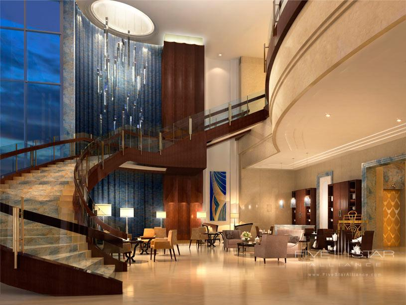 Lobby Area at The ST Regis Chengdu Hotel